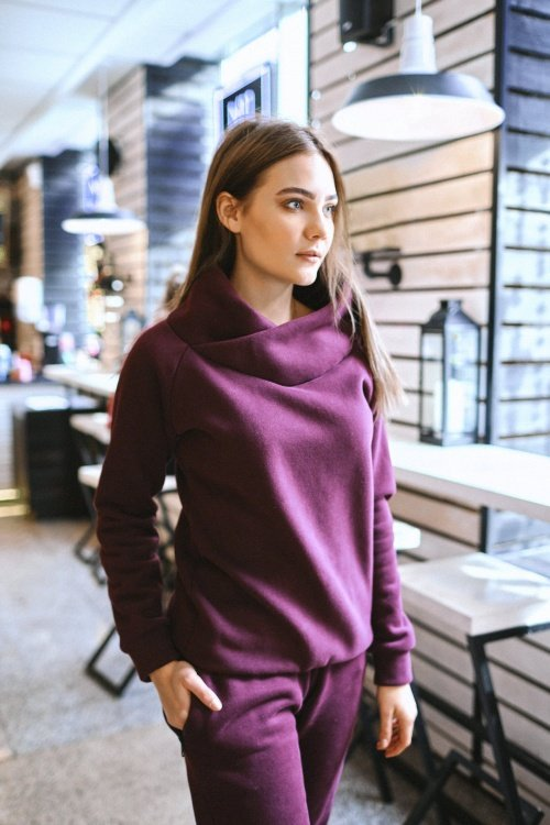 Костюм Mega Fleece BORDO
